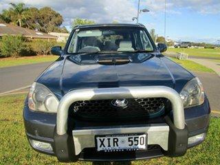 2005 Hyundai Terracan CRDi Blue 5 Speed Manual Wagon.