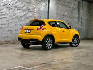 2017 Nissan Juke F15 Series 2 Ti-S X-tronic AWD Yellow 1 Speed Constant Variable Hatchback