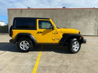 2019 Jeep Wrangler JL MY19 Sport S Yellow 8 Speed Automatic Softtop.