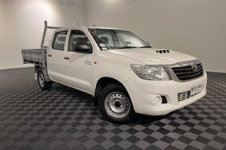 2014 Toyota Hilux KUN16R MY14 SR Double Cab 4x2 Glacier 5 speed Manual Utility.