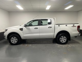 2016 Ford Ranger PX MkII XLS Double Cab White 6 Speed Sports Automatic Utility