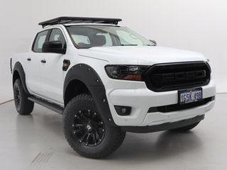2018 Ford Ranger PX MkIII MY19 XLS 3.2 (4x4) White 6 Speed Manual Double Cab Pick Up.