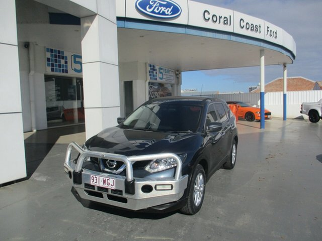 Used Nissan X-Trail T32 TS (FWD) Bundaberg, 2016 Nissan X-Trail T32 TS (FWD) Blue Continuous Variable Wagon
