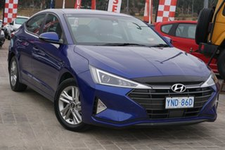 2018 Hyundai Elantra AD.2 MY19 Active Intense Blue 6 Speed Sports Automatic Sedan.