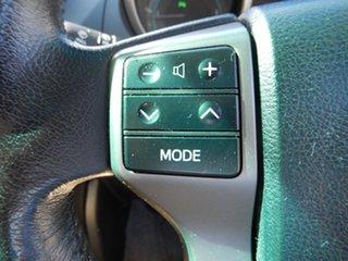 2012 Toyota Landcruiser Prado KDJ150R 11 Upgrade Altitude (4x4) Silver Pearl 5 Speed Sequential Auto