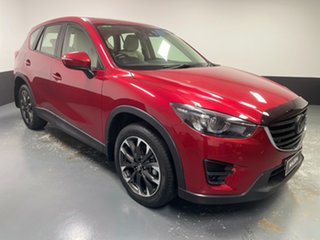 2016 Mazda CX-5 KE1032 Akera SKYACTIV-Drive AWD Red 6 Speed Sports Automatic Wagon.