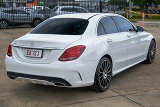 2015 Mercedes-Benz C-Class W205 C250 7G-Tronic + White 7 Speed Sports Automatic Sedan