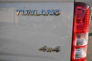 2013 Foton Tunland P201 Luxury (4x4) White 5 Speed Manual Dual Cab Utility