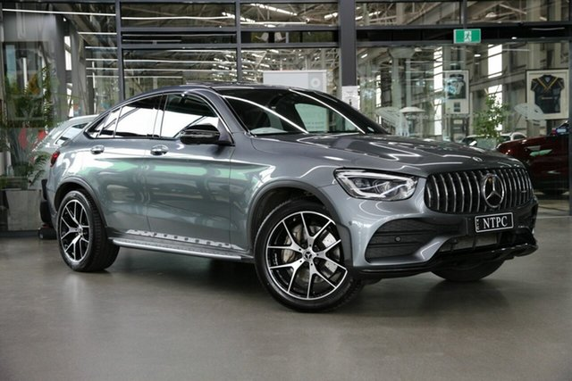 Used Mercedes-Benz GLC-Class C253 800MY GLC300 Coupe 9G-Tronic 4MATIC North Melbourne, 2019 Mercedes-Benz GLC-Class C253 800MY GLC300 Coupe 9G-Tronic 4MATIC Grey 9 Speed Sports Automatic