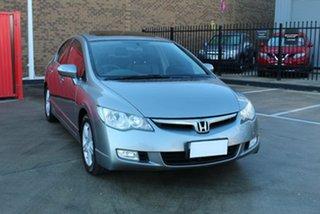 2006 Honda Civic 40 Sport Grey 5 Speed Automatic Sedan.