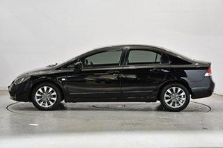 2011 Honda Civic 8th Gen MY10 VTi-L Black 5 Speed Automatic Sedan.