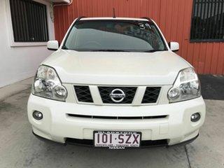 2009 Nissan X-Trail T31 MY10 TS White 6 Speed Sports Automatic Wagon.