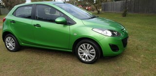 2010 Mazda 2 DE10Y1 Neo Green 5 Speed Manual Hatchback
