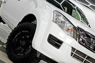 2016 Isuzu D-MAX TF MY15.5 SX (4x4) White 5 Speed Manual Crew Cab Chassis.