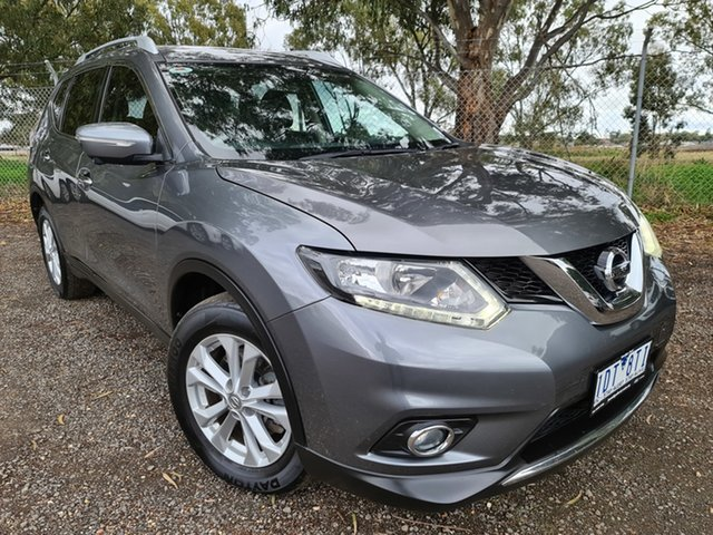 Used Nissan X-Trail T32 ST-L X-tronic 2WD Epsom, 2015 Nissan X-Trail T32 ST-L X-tronic 2WD Grey 7 Speed Constant Variable Wagon