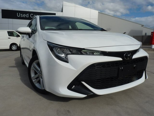 Pre-Owned Toyota Corolla Mzea12R Ascent Sport Blacktown, 2020 Toyota Corolla Mzea12R Ascent Sport Glacier White 10 Speed Constant Variable Hatchback