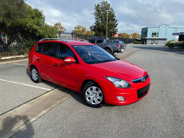 Used Hyundai i30 FD MY11 SX cw Wagon Mile End, 2011 Hyundai i30 FD MY11 SX cw Wagon Red 4 Speed Automatic Wagon