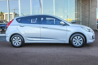 2017 Hyundai Accent RB4 MY17 Active Silver 6 Speed Constant Variable Hatchback