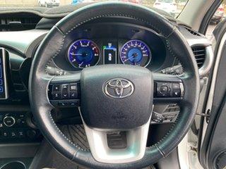 2017 Toyota Hilux GUN126R SR5 (4x4) Glacier White 6 Speed Automatic Dual Cab Utility