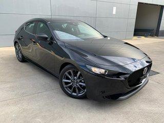 2021 Mazda 3 BP2H7A G20 SKYACTIV-Drive Evolve Jet Black 6 Speed Sports Automatic Hatchback.