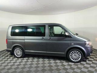 2011 Volkswagen Multivan T5 MY12 TDI400 DSG Highline Grey 7 Speed Sports Automatic Dual Clutch Wagon.