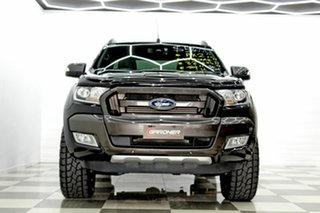 2015 Ford Ranger PX MkII Wildtrak 3.2 (4x4) Black 6 Speed Automatic Dual Cab Pick-up