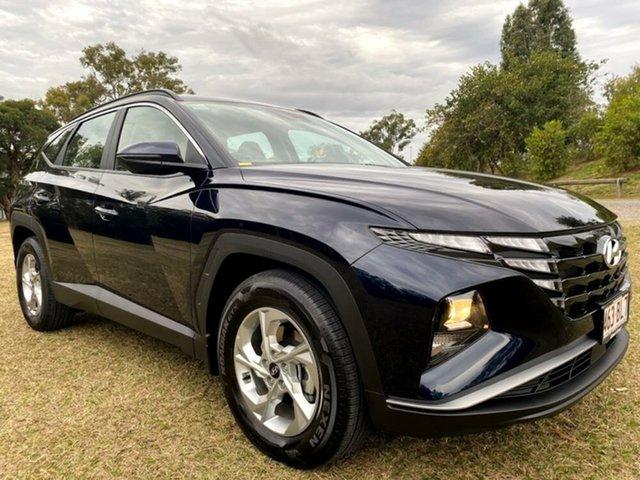 Demo Hyundai Tucson NX4.V1 MY22 2WD Mount Gravatt, 2021 Hyundai Tucson NX4.V1 MY22 2WD Deep Sea 6 Speed Automatic Wagon