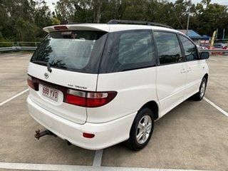 2000 Toyota Tarago ACR30R GLX White 4 Speed Automatic Wagon.