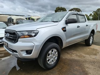 2018 Ford Ranger PX MkII 2018.00MY XL Ingot Silver 6 Speed Sports Automatic Utility.