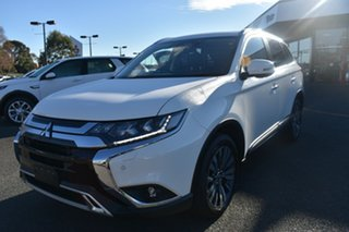 2019 Mitsubishi Outlander ZL MY20 Exceed AWD White 6 Speed Constant Variable Wagon.