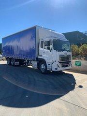 2021 UD GW26390 GW26390 CW 26 390 Truck White Curtain Sider.