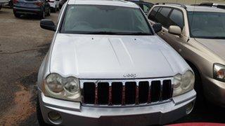 2005 Jeep Cherokee Silver Wagon.