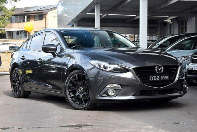 Used Mazda 3 BM5236 SP25 SKYACTIV-MT GT Waitara, 2014 Mazda 3 BM5236 SP25 SKYACTIV-MT GT Grey 6 Speed Manual Sedan