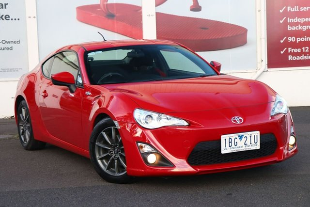 Pre-Owned Toyota 86 Ferntree Gully, 86 GT 2.0L Petrol Automatic Coupe