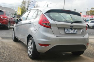 2011 Ford Fiesta WT CL Silver 6 Speed Automatic Hatchback