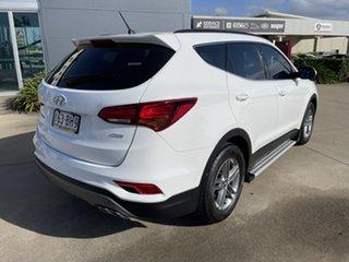 2017 Hyundai Santa Fe DM3 MY17 Active White/180417 6 Speed Manual Wagon.