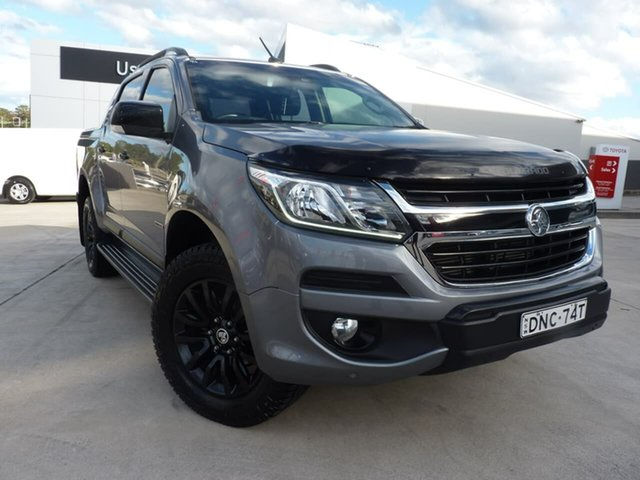 Pre-Owned Holden Colorado RG MY17 Z71 Pickup Crew Cab Blacktown, 2016 Holden Colorado RG MY17 Z71 Pickup Crew Cab Grey 6 Speed Sports Automatic Utility