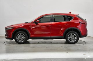 2017 Mazda CX-5 KF4W2A Touring SKYACTIV-Drive i-ACTIV AWD Soul Red 6 Speed Sports Automatic Wagon.