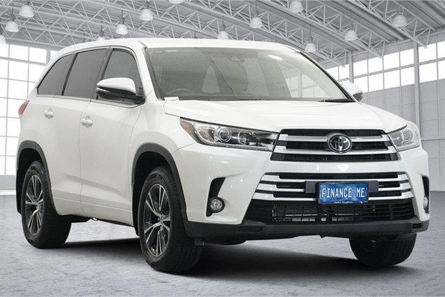 Used Toyota Kluger GSU55R GX AWD Victoria Park, 2019 Toyota Kluger GSU55R GX AWD White 8 Speed Sports Automatic Wagon