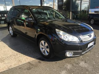 2012 Subaru Outback MY12 2.5I Premium AWD Black 6 Speed Manual Wagon.
