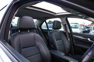 2013 Mercedes-Benz C-Class W204 MY13 C250 7G-Tronic + Avantgarde Silver 7 Speed Sports Automatic.