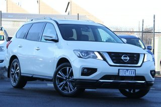 2020 Nissan Pathfinder R52 Series III MY19 Ti X-tronic 4WD White 1 Speed Constant Variable Wagon.