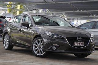 2015 Mazda 3 BM5236 SP25 SKYACTIV-MT Astina Bronze 6 Speed Manual Sedan.