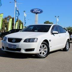 2011 Holden Commodore VE II Omega White 6 Speed Sports Automatic Sedan.