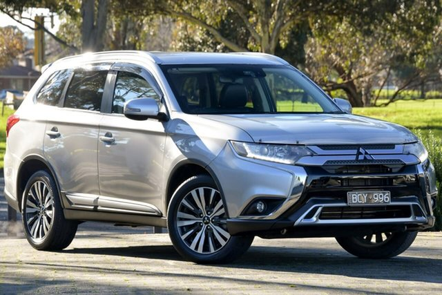Used Mitsubishi Outlander ZL MY19 LS 2WD Dandenong, 2019 Mitsubishi Outlander ZL MY19 LS 2WD Silver, Chrome 6 Speed Constant Variable Wagon