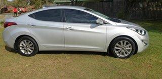 2013 Hyundai Elantra MD3 Elite Silver 6 Speed Sports Automatic Sedan.