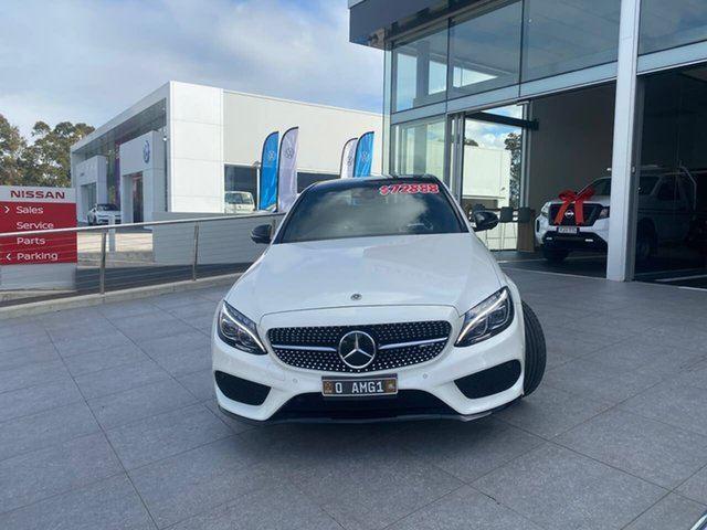 Used Mercedes-Benz C-Class S205 808MY C43 AMG Estate 9G-Tronic 4MATIC Liverpool, 2017 Mercedes-Benz C-Class S205 808MY C43 AMG Estate 9G-Tronic 4MATIC White 9 Speed Sports Automatic