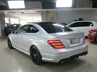 2013 Mercedes-Benz C-Class C204 MY13 C63 AMG SPEEDSHIFT MCT Silver 7 Speed Sports Automatic Coupe
