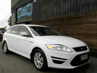 2013 Ford Mondeo MC LX PwrShift TDCi White 6 Speed Sports Automatic Dual Clutch Wagon.