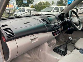 2011 Mitsubishi Triton MN GL Silver 5 Speed Manual Cab Chassis